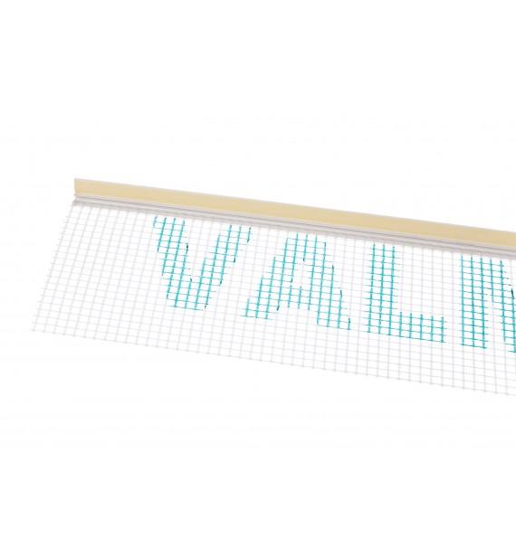 Začisťovací okenný profil APU 6mm so sieťkou