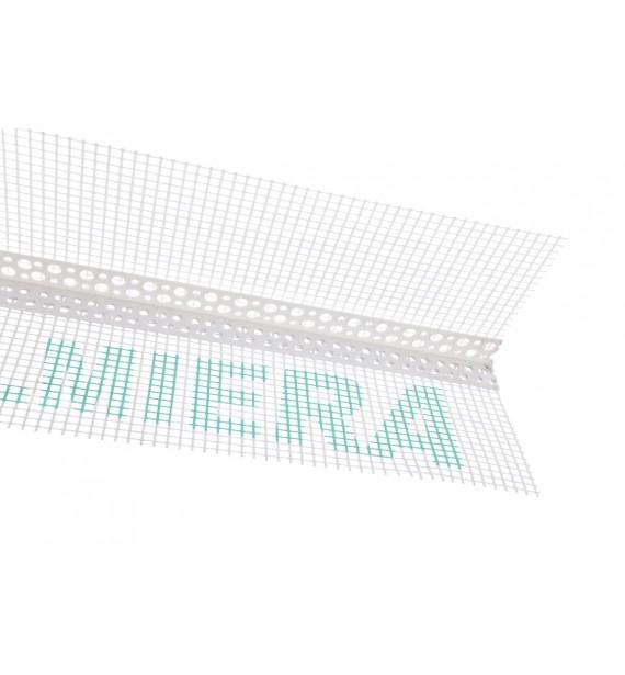 PVC corner with mesh Valmiera/Vertex sieťka 145g/m²