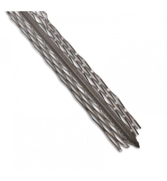 Plaster corner of galvanized sheet metal 36x36mm- LUX