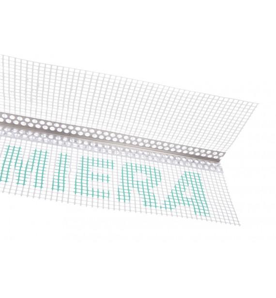 ALU corner with mesh Valmiera/Vertex 145g/m²