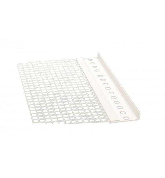 PVC stop profil L with mesh