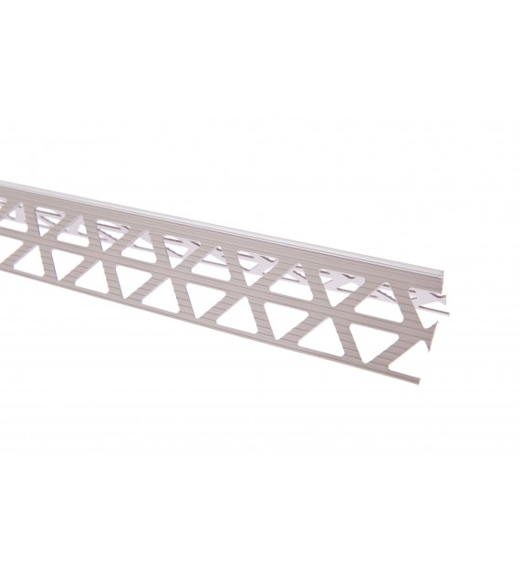 PVC corner 45x45 mm with nose 3 mm